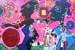 VOODOO MIT UDO, 2018, 80 x 120 cm, canvas