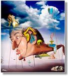 A homage to Salvador Dalí