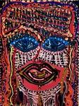 mask painting israeli artist mirit ben nun
