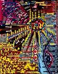 zentangle artwork israeli painter mirit ben nun