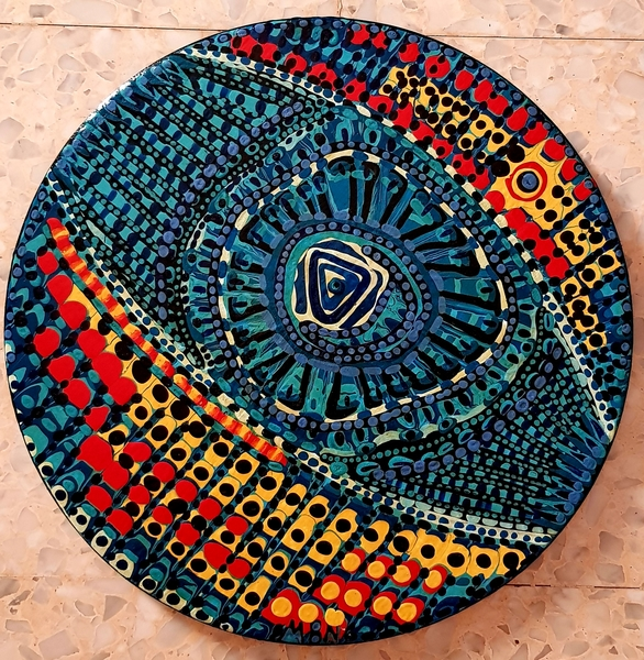 Mandala art by Mirit Ben-Nun israeli artist