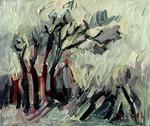 Bäume im Sturm I
