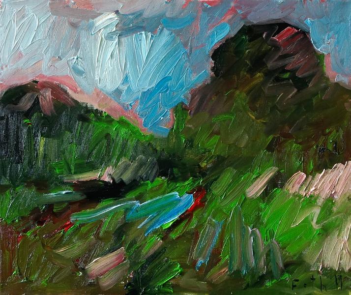 Landschaft Ölgangsinsel I