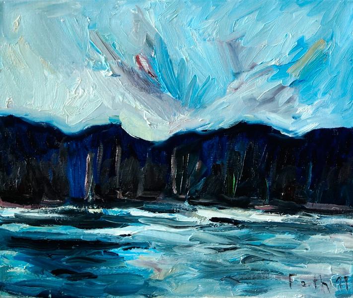 Landschaft Ölgangsinsel IV