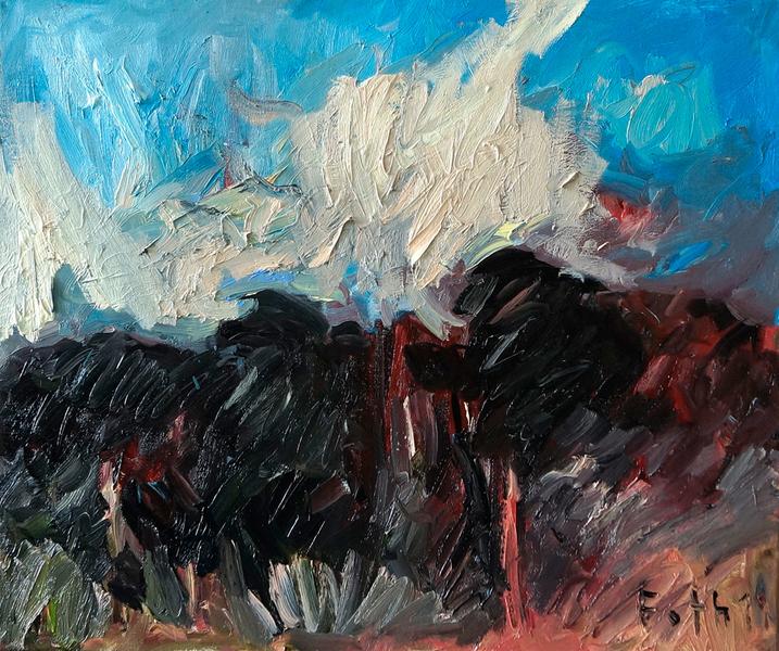 Landschaft Ölgangsinsel V