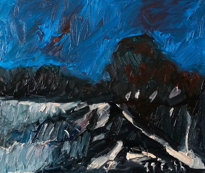 Landschaft Ölgangsinsel VI