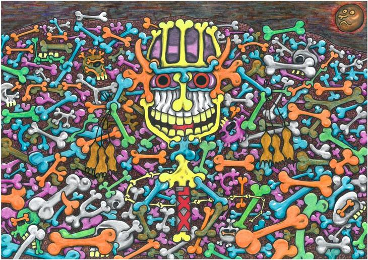 The raw passions of the Skeletons population of the World of ...