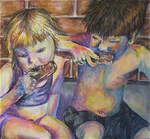 Untitled (Eating Popsicles)