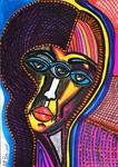 mask artist modern paintings israel mirit ben nun