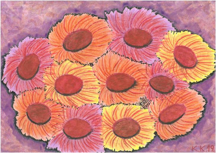 Flowers from the World of Fantasy, contemporary art story