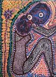 Arte outsider moderna artista Mirit Ben-nun
