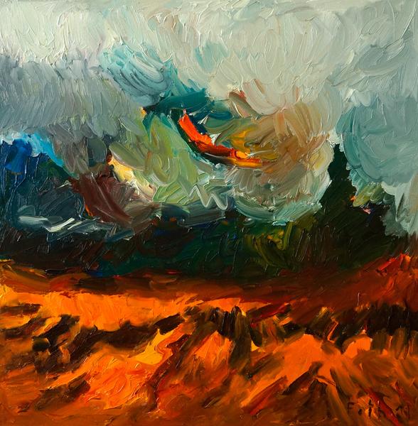 Weltende / Hommage an Vincent van Gogh