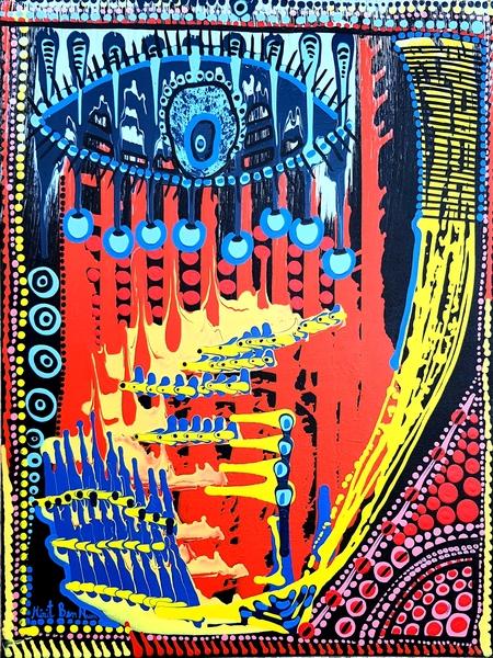 israeli painter artist mirit ben nun contemporary modern art