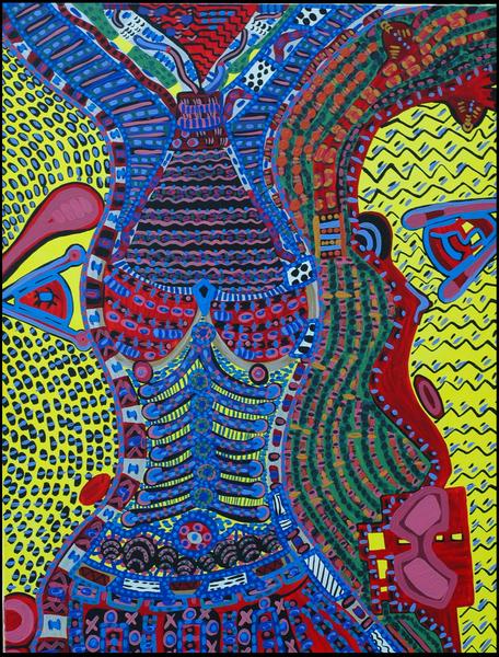 Arte de vanguardia artista israeli latina Mirit Ben-Nun