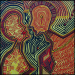 Cuadros etnicos artista puntillista israeli Mirit Ben-Nun
