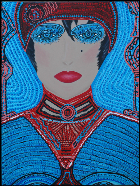 Arte outsider moderna artista israeli Mirit Ben-nun