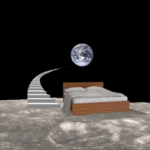 earth from moon bed stairs - Copy