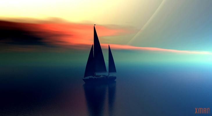 Soft Evening Sky