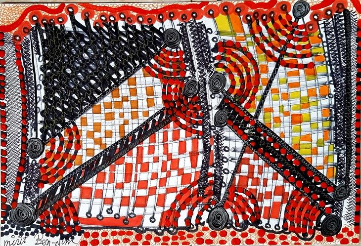Realismo artistico pintora israeli Mirit Ben-Nun
