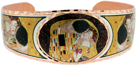 Gustav Klimt The Kiss Bracelet
