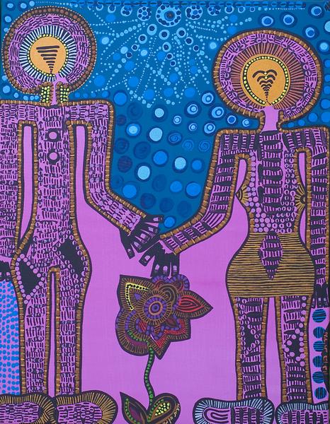 Pintores modernos acrilico vendo Mirit Ben-Nun desde Israel