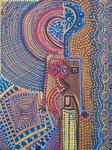 Pintores contemporaneos venta cuadros acrilico desde Israel