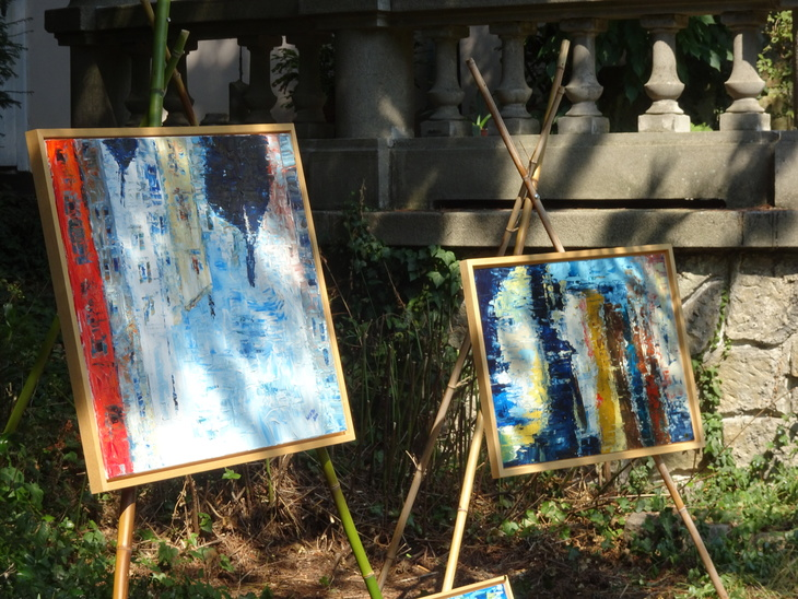 paintings for the exibition