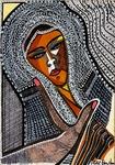 Modern israeli artist original drawings for sale Mirit Ben-Nun
