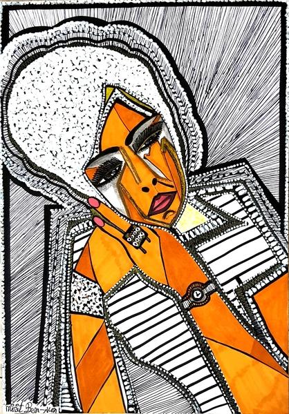 Painters from Israel selling original drawings Mirit Ben-Nun