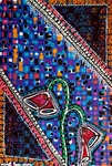 Mujer pintora en la pintura moderna desde Israel