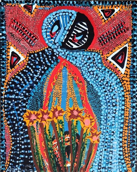 acrylic artwork paintings by mirit ben nun modern artist