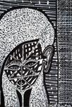 black and white drawings modern art israel