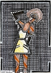 black and white drawings mirit ben nun israeli artist