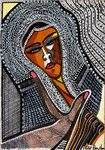 white and black drawings israeli modern art mirit ben nun