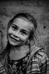 Big smile portrait
