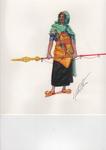 Nubian Palace Guard, no. 1