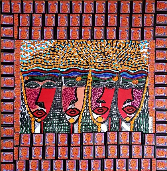Artist in Israel Mirit Ben-Nun drawings and paintings