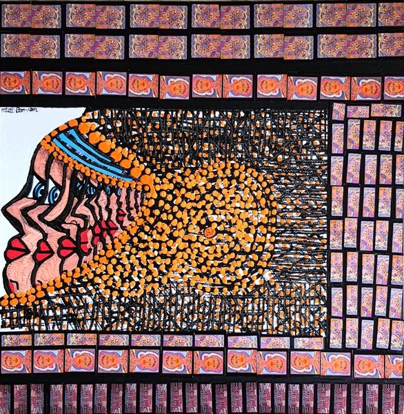 Art Israel modern drawings and paintings Mirit Ben-Nun