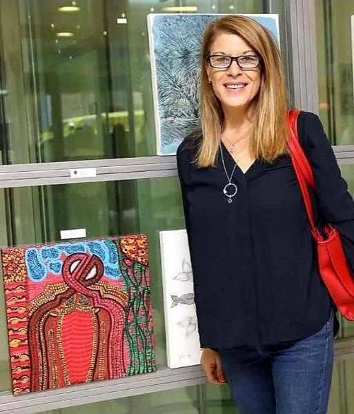 Israeli artists modern paintings Mirit Ben-Nun