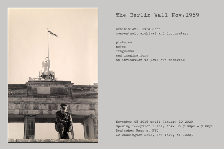 Exhibition The Fall Of The Berlin Wall