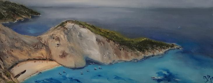 Zakynthos Navagio Bay