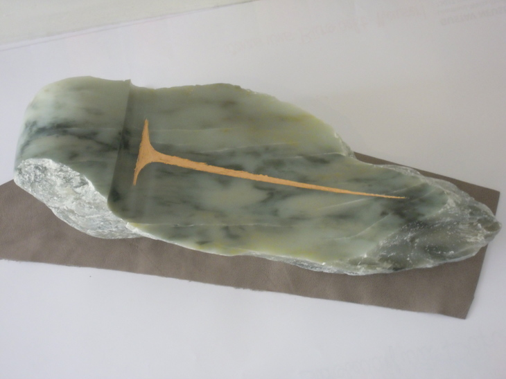 Flache Schale, keltisches Zeichen