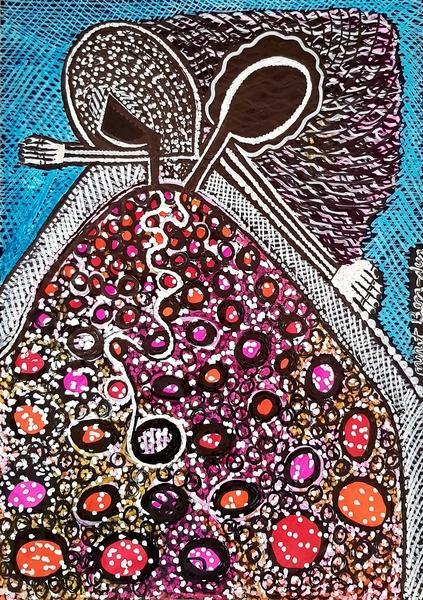 Israeli artwork Israel couple drawings by Mirit Ben-Nun