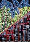 paintings of houses flowersistarl artwork mirit ben nun