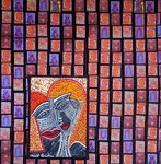mixed media israel modern artwork mirit ben nun
