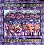 mixed media artwork israel mirit ben nun modern artist