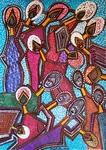 Arte abstracto artista latino judia Mirit Ben-Nun