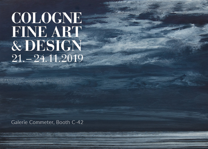 Cologne Fine Art & Design, 21.-24.11.2019, Galerie Commeter