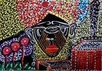 Israel pintora moderna dibujos de caras Mirit Ben-Nun