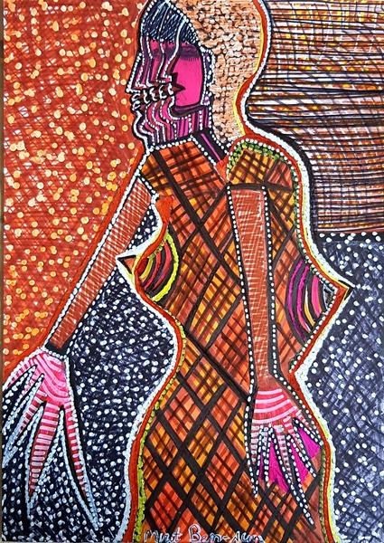 Obras de arte pintores vanguardia artista israeli